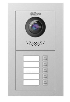Post de exterior videointerfon IP 2 MP 5 butoane de apel Dahua VTO4202F-P