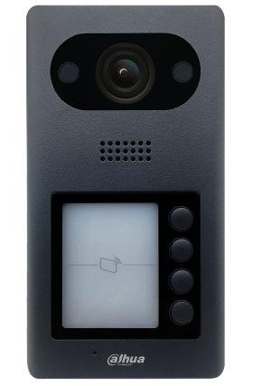 Post videointerfon IP Dahua VTO3211D-P4 cu 4 butoane de acces exterior