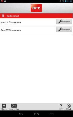 Telecomanda Bluetooth pentru automatizari de porti Deimos Ultra BT A, BFT