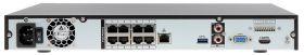 NVR 8 canale video IP, rezolutie maxima 8MP, Dahua NVR4208-8P-4KS2