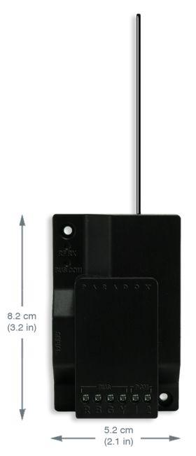 Modul de extensie radio receptor, Paradox, RX1