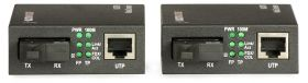 Set Media converter ULTIMODE M-207M (WDM, singlemode, max. 20 km)