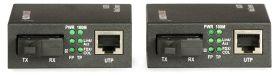 Set Media converter ULTIMODE M-407M  (WDM, singlemode, max. 40 km)